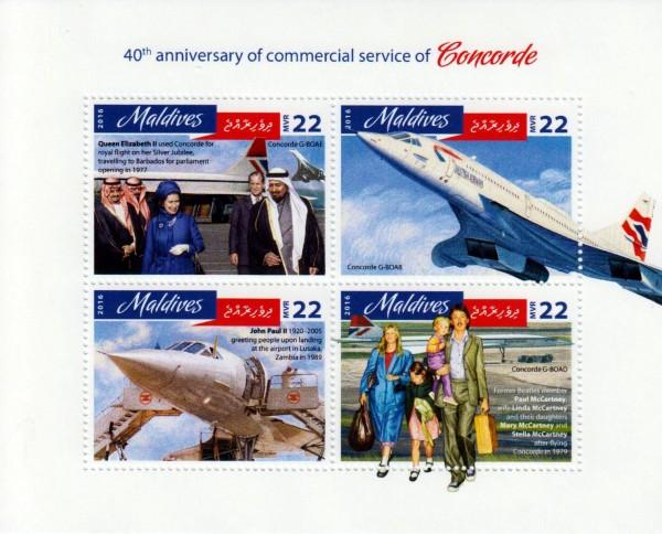 40 Jahre Concorde, Flugzeug 2016
