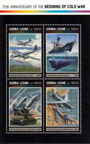 Beginn des Kalten Kriegs, Flugzeuge