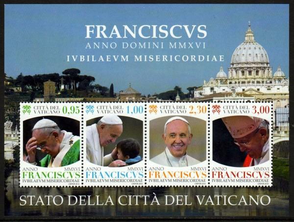 Block: Pontifikat MMXVI Papst Franziskus