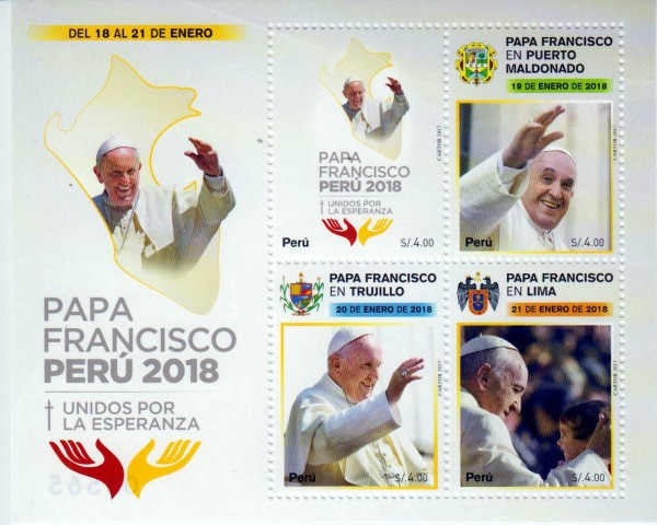 Block: Papstbesuch in Peru