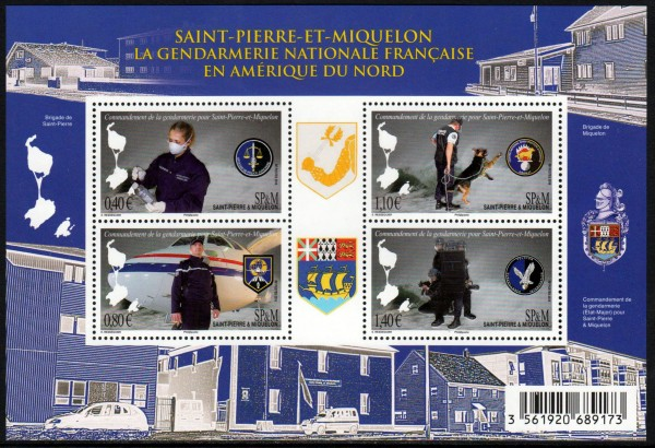 Block: Gendarmerie, Flugzeug
