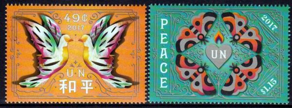 Intern. Tag des Friedens, Tauben