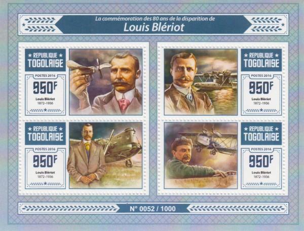 Louis Bleriot, Flugzeuge, Pilot (16P18)