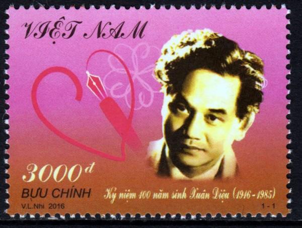 Xuan Dieu 1916-1985 (16P02)