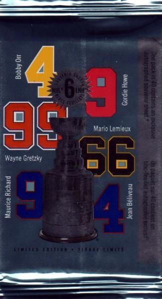 Block: NHL Kanadische Eishockeyspieler, sk (Packung) (031)