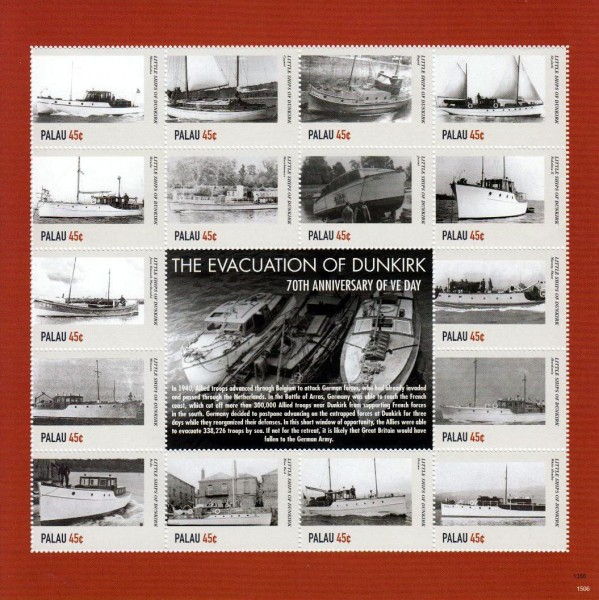 2. WK, Dünkirchen II, Schiffe (P10)