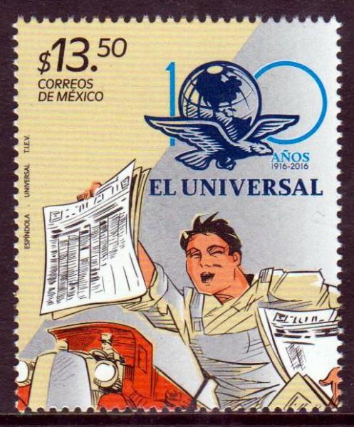 """Zeitung """"El Universal"""" 2016"""