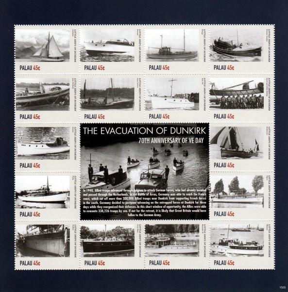 2. WK, Dünkirchen I, Schiffe (P09)