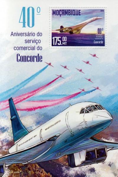 Block: Flug der Concorde