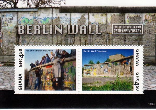 Block: Fall der Berliner Mauer