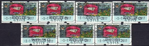 """Briefe empfangen, Ergänzungssatz ohne rückseitiger Nr. mit ESSt Bonn """"B"""""""