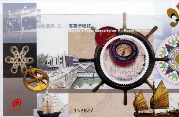 Block: Maritimes Museum, Kompass