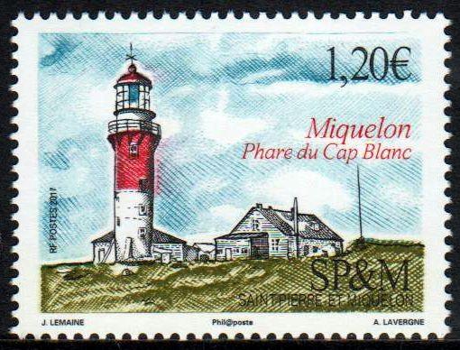 Leuchtturm Cap Blanc