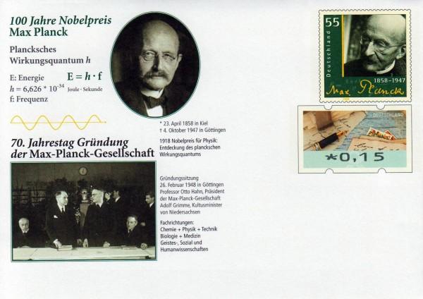 100 Jahre Nobelpreis Max Planck 2018