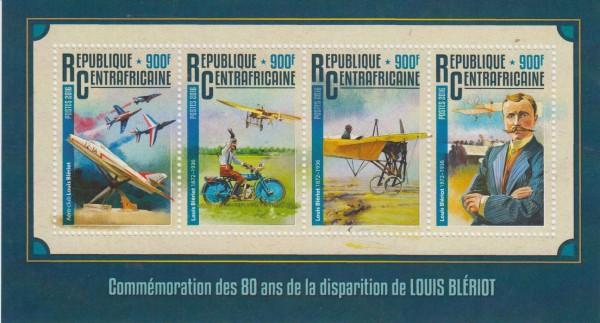 Louis Bleriot 2016, Pilot, Flugzeuge