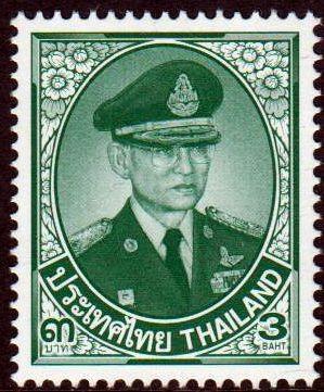 Dauer: König Bhumibol, grün, 2. Druck