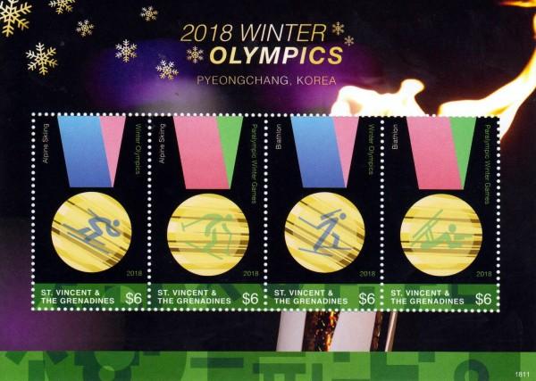 Olympische Winterspiele 2018, Medaillen