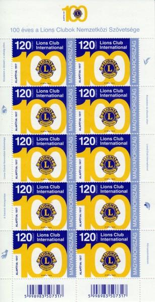 100 J. Lions Club, Emblem