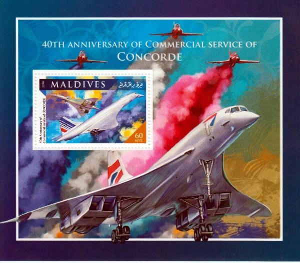 Block: Flüge der Concorde 2016