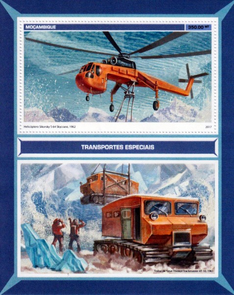 Block: Spezialtransporte, Hubschrauber