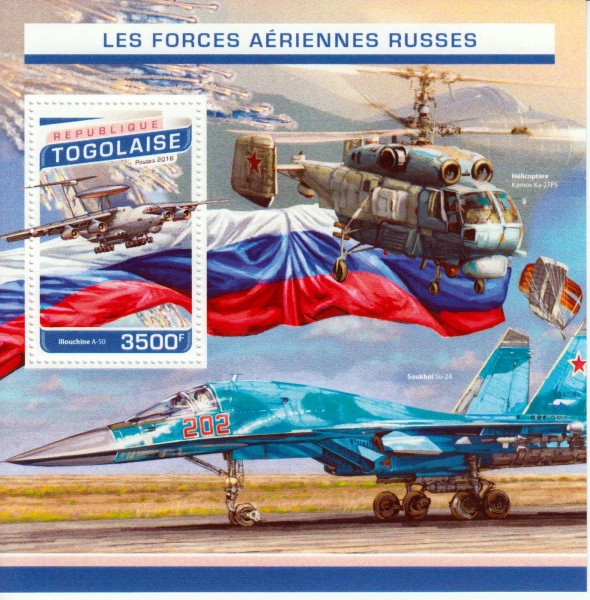 Block: Russische Air Force, Fluzeug