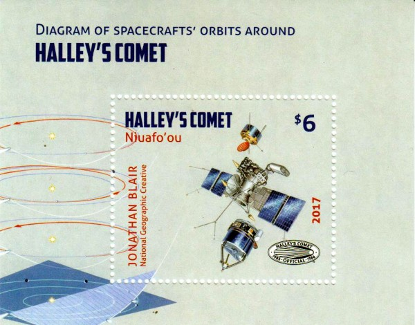 Block: Halley´s Komet, Satellit