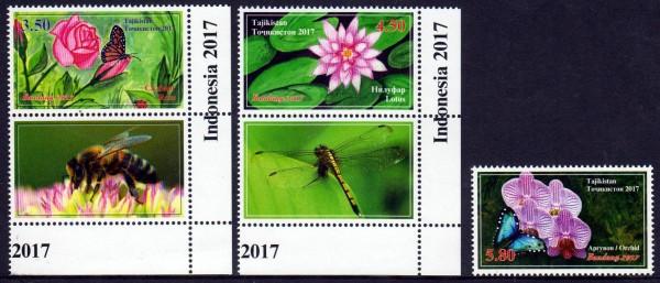 Blumen und Schmetterlinge 2017