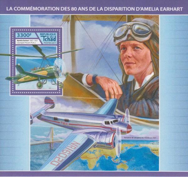 Block: Amelia Earhart