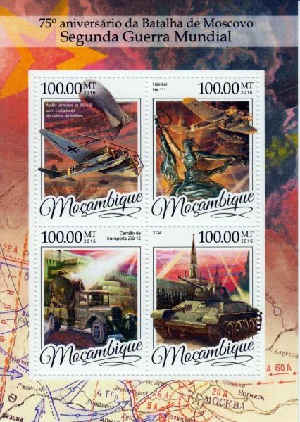 Schlacht von Moskau, Flugzeuge, Panzer