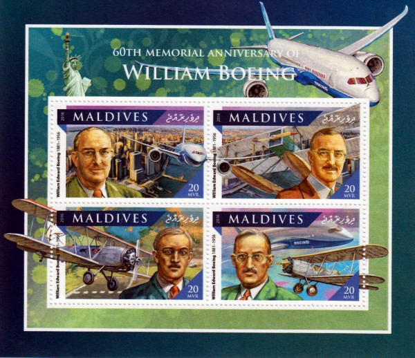 William Boeing, Flugzeuge
