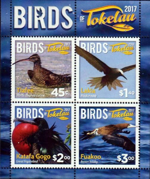 Block: Vögel von Tokelau 2017