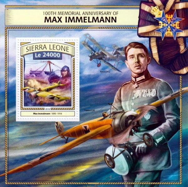 Block: Max Immelmann, Flugzeug