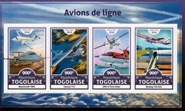 Linienflugzeuge 2016