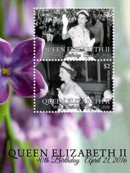 Block: 90.Geb. Queen Elisabeth