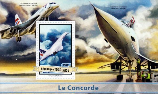 Block: Concorde 2017, Flugzeug