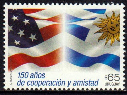 150 J. Freundschaft mit USA, Flagge
