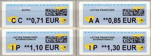 Dauerausgabe, IER-ATM mit 2D-Matrixcode (FR21)