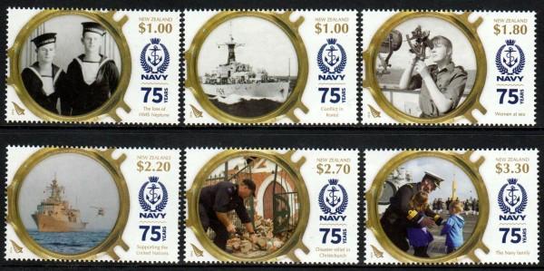 75 Jahre Navy, Schiffe, Matrosen