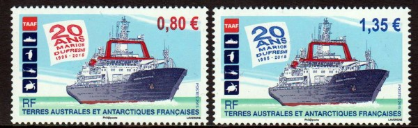 20 Jahre M. Dufresne, Schiffe