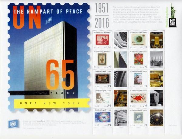 Zdr. UNPA New York, Marke a. Marke