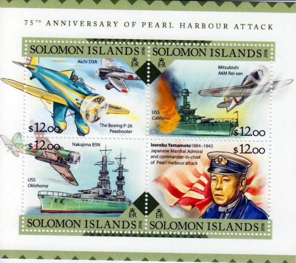 Pearl Harbour 2016, Schiffe, Flugzeuge