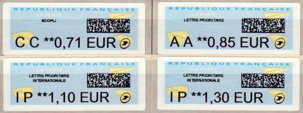 Dauerausgabe, Nabanco-ATM mit 2D-Code (FR31)