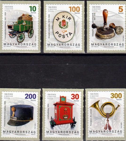 Dauer: 150 Jahre Postgeschichte, Posthorn, Kutsche, Briefkasten