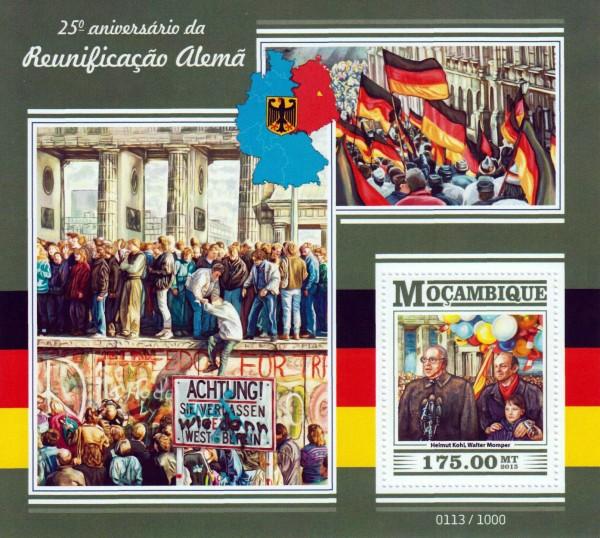 Block: Wiedervereinigung, Kohl