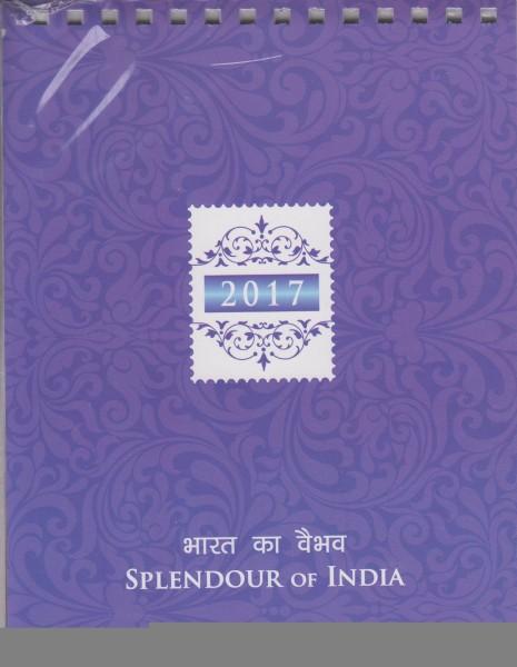 Block: Schönheiten Indiens, in Kalenderform