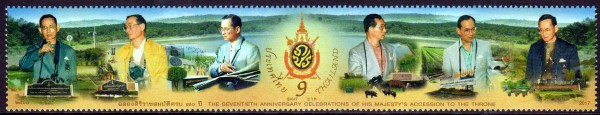 Thronjubiläum v. König Bhumibol