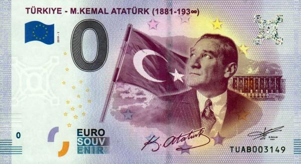 Türkei - Türkiye M. Kemal Atatürk 2019-1