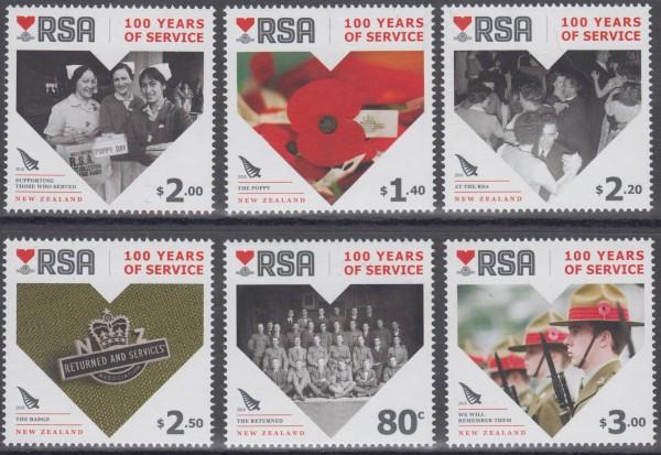RSA, 100J. Service (16P02)