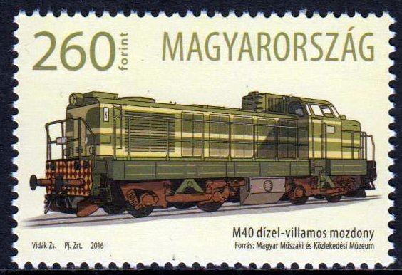Erste M40 Lokomotive