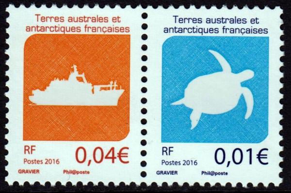 Dauer: Logos '16, Schiff, Schildkröte (P14)